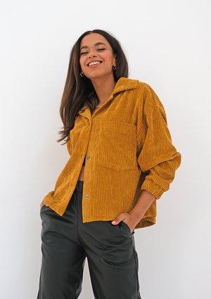 Mustard yellow curduroy jacket
