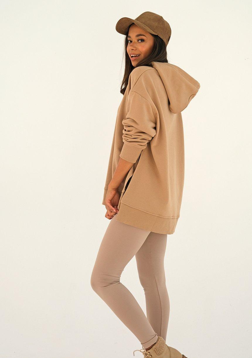 Bluza oversize Beige ILM