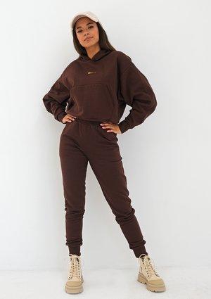 Women's sweatpants Dark Brown